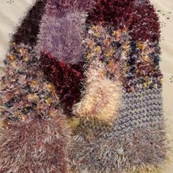 Multi coloured very warm and long adult scarves. 19