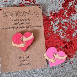 Personalised Valentine's Pocket Hug