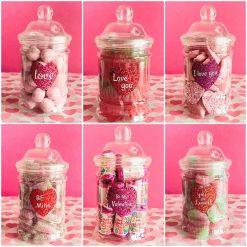 *Valentines Sweet Jars