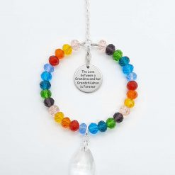Grandma and Grandchildren Mother's Day Rainbow Sun Catcher
