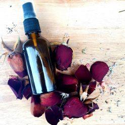 Dark Rose Room Mist / Natural Room Spray / Natural Air Freshener with Essential Oils