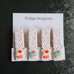 Cup Cake Fridge / Memo Magnets
