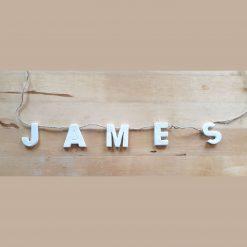 Personalised hanging name garland/bunting