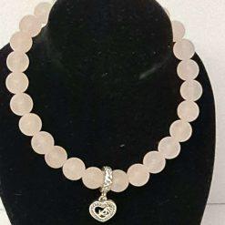 A beautiful semi precious gemstone bead bracelet