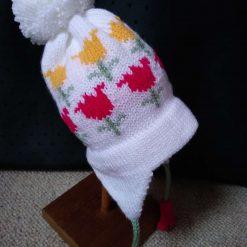 Child's Tulip earflap hat