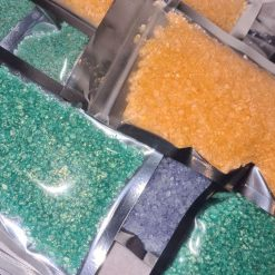 Sizzling crystals