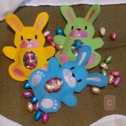 Bunny egg pockets