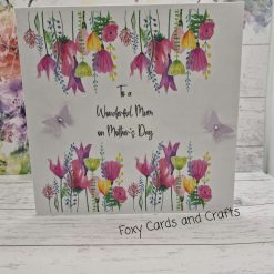 Handmade Mother's  Day Card Meadow 2
