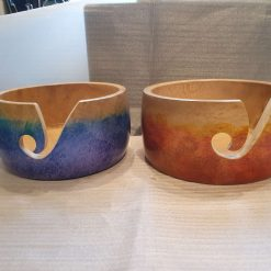 Two yarn bowls