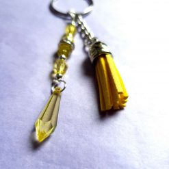 yellow keychain 1