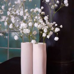 Ceramic bud vases (set of 2)