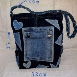 Hand-made Denim handbag 👜
