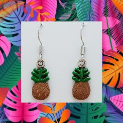 'Fruit' Pineapple Necklace | Tibetan Silver Birthday Christmas Mothers Mother's Day Valentine Anniversary Easter Jewellery Gift Ideas | Charming Gifts
