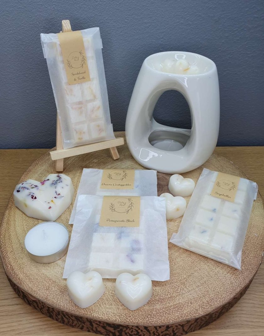 Natural Soy Wax Melts Starter Kit, Highly Fragranced, Various Scents