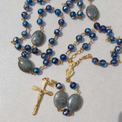 Czech glass bead Rosary