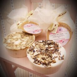 Heavenly Scented Petitgrain & French Lavender Oatmeal & Shea Butter Soaps