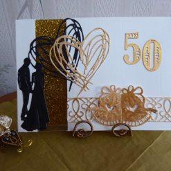 Z Sold : Golden Wedding Anniversary Card