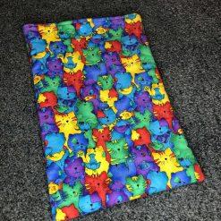 Cat print iPad/tablet sleeve