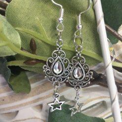 Gem & Star Earrings