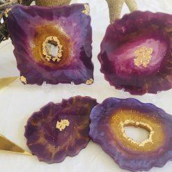 'Royal' Resin Coasters