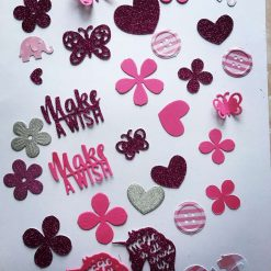 Mixed Bag of Die Cuts for Scrapbooking and Card Making