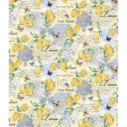 Michael Miller Limoncella Citrus Fabric - Fresh and so very Springtime.
