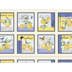 Michael Miller Limoncella 100% Cotton Panel - Make fabulous Placemats