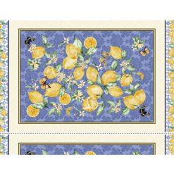 Michael Miller Limoncella 100% Cotton Panel - Make a fabulous Table Runner