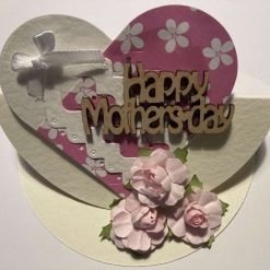 Hand made Pop up Easel Mothers Day Card  - Sold