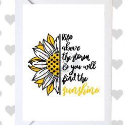 Positivity Card