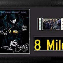 8 Mile 35mm Framed Film Cell Display - Cast Signed