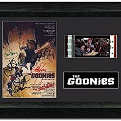The Goonies 35mm Framed Film Cell Display - Cast Signed