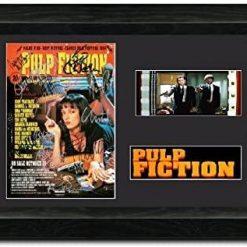 Pulp Fiction 35mm Framed Film Cell Display - Cast Signed