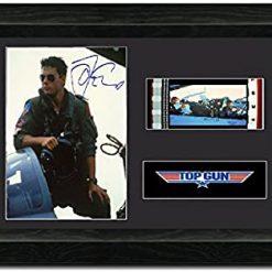 Top Gun 35mm Framed Film Cell Display - Cast Signed