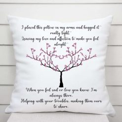 For My Daughter Cushion