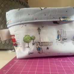 Reversible Fabric Storage Box