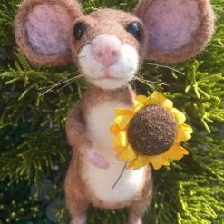 Needle Felting Kit - Lugs the large eared mouse