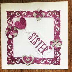 Sister Card Topper