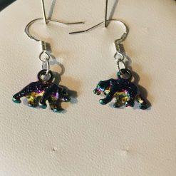 Bear earrings
