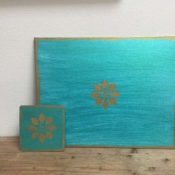 Hand painted place/table mats