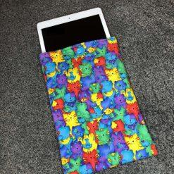 Cat print iPad/tablet sleeve 2