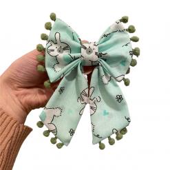 Mint Easter Wishes bandana