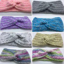 Ladies Chunky Handmade Ear warmers - Crochet with a Twist design.