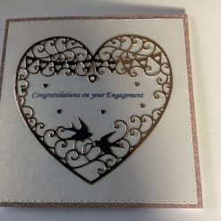 Handmade Engagement Card