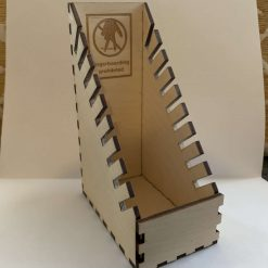 Laser cut fingerboard holder