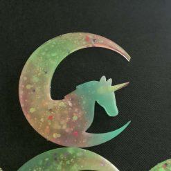 Unicorn glow in the dark wall plaque