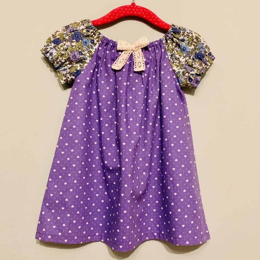 Handmade Dress-With Matching Headband.12 -18 months (only 1 left) 1