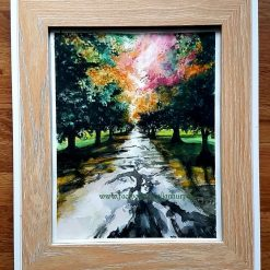 A ray of light Framed original water colour A4