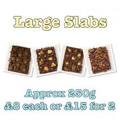 Luxury Belgian Chocolate Large Slabs 2 for £15