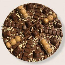 """Luxury Belgian Chocolate 7"""" Pizza """"Dark Delicacy"""""""